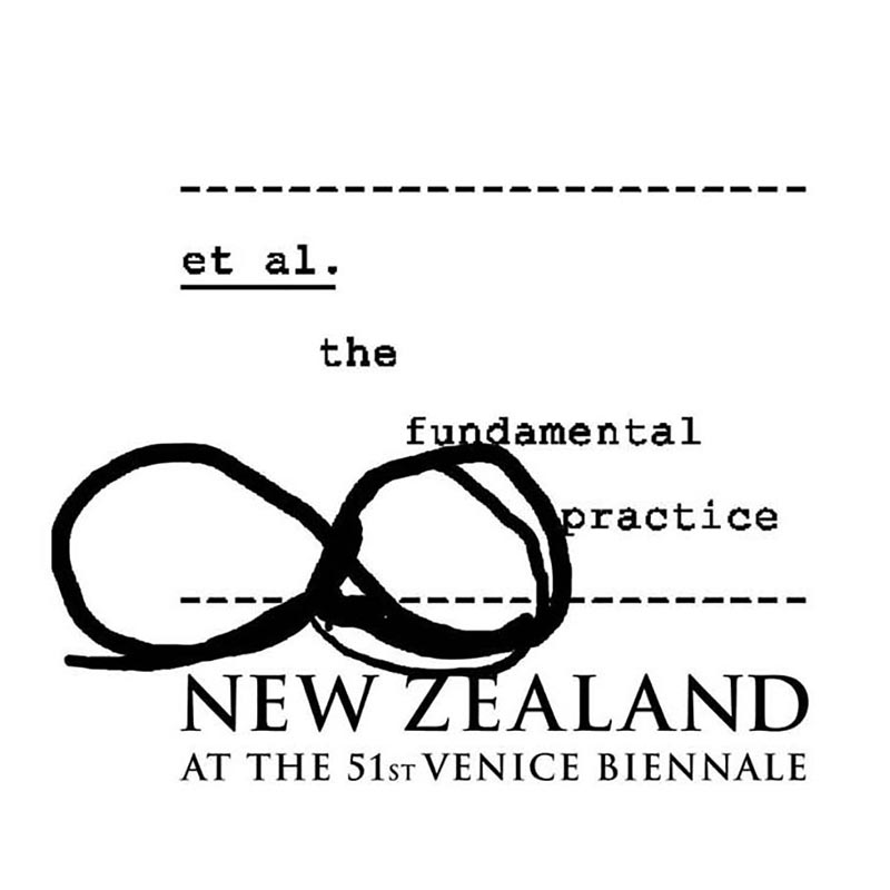 2005 New Zealand at Venice logo.