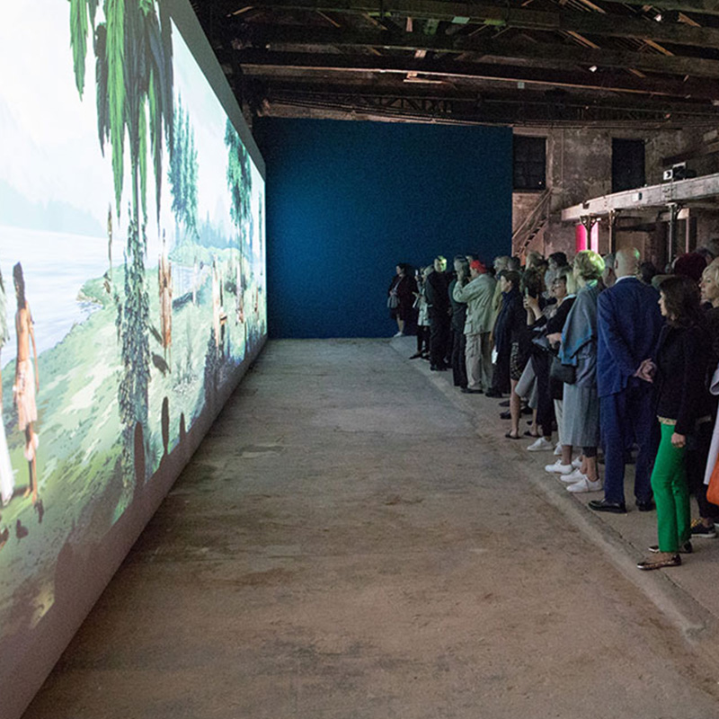 Official opening of the New Zealand Pavilion, Biennale Arte 2017. Photo: Michael Hall.