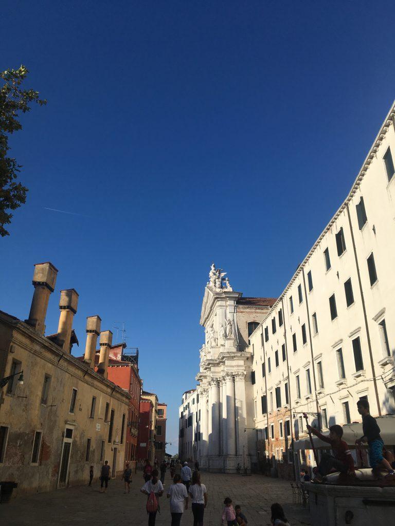 Venice city street view